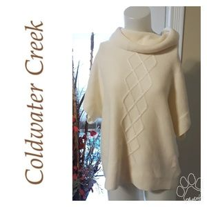 COLD WATER Creek cowl neck sweater